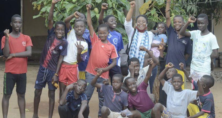 Sensibilisation des élèves du quartier d'agbalepogan