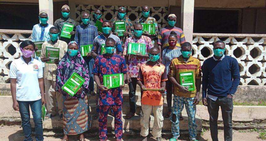 Sensibiliser les producteurs de soja de Bakpérou sur la gestion intégrée de la fertilité des sols
